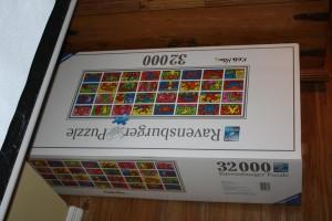 32,000 piece Puzzle Box