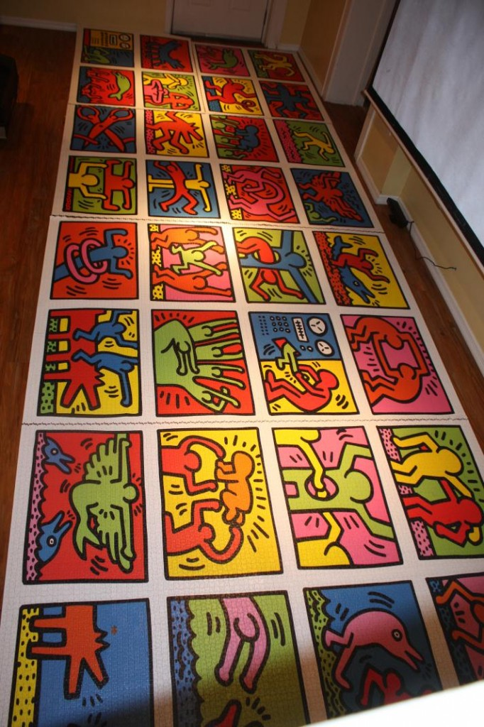 Ravensburger 32,000 piece (Keith haring) Puzzle - Complete