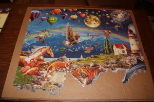 "Life 24,000 Piece Puzzle - Section ""B"" - Sky"