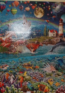 Life 24,000 Piece Puzzle - Section D